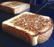 Texas Toast - Start with English Muffin Toasting Bread, and you're 95% of the way there.