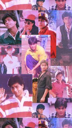 Best Bollywood Movies, Bollywood Couples, Bollywood Actors, Bollywood Fashion, Shahrukh Khan And Kajol, Aamir Khan, Bollywood Wallpaper, Srk Movies, Vintage Bollywood