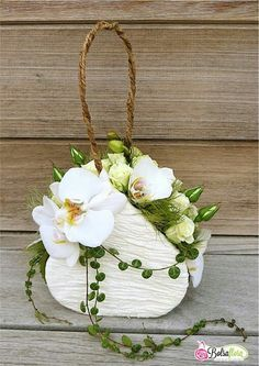 Pretty flower purse