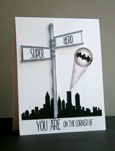 You are on the corner of Super and Hero - Two Peas in a Bucket