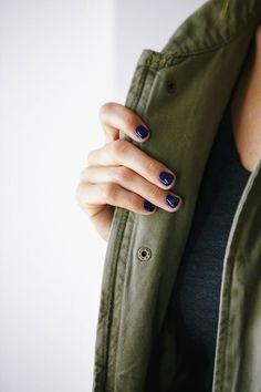 I love dark nail polish