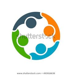 Business Cooperation Between Friends Logo Design Stock Vector (Royalty Free) 493916638 Friend Logo, People Logo, Between Friends, Teamwork, Logo Design, Graphic Design, Signage, Connection, Royalty Free Stock Photos