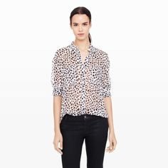 Neandra Top - Long Sleeve Shirts at Club Monaco $99
