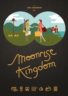 Watching one of my favorite movies, Moonrise Kingdon.