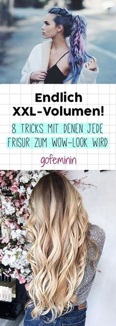 So bekommen deine Haare mehr Volumen! ...repinned für Gewinner! - jetzt gratis Erfolgsratgeber sichern www.ratsucher.de