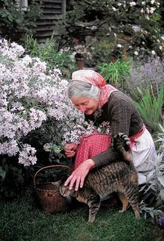 Blueberry Cottage:  Tasha Tudor inspired me to march to my own drum