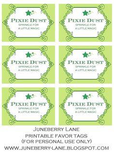 Pixie Dust Multiple Tags