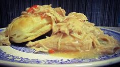 Hey folks, here is an Awesome and Simple twist on Biscuits and Gravy. Cooked in crock pot. Biscuits And Chicken Gravy Cooked In Crock Pot Great Chicken Recipes, Chicken Gravy, Biscuits And Gravy, Recipe Boards, Tasty Dishes, No Cook Meals, Spice Things Up, Crock Pot, Sweets