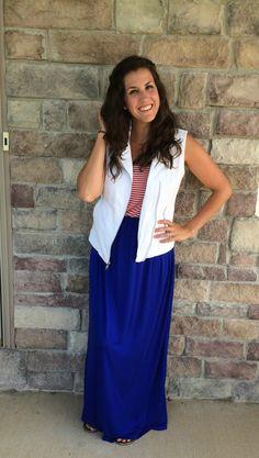 What I Wore Real Mom Style: Styling a White Vest & Inside Out Braid #RealMomStyle - momma in flip flops