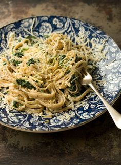 lemon spinach carbonara