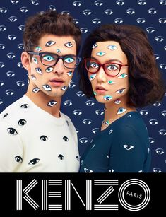 """TOILETPAPER magazine (maurizio cattelan, pierpaolo ferrari and micol talso) is responsible for KENZO's FW13 campaign. selected by business of fashion as the best ads of the season..."""