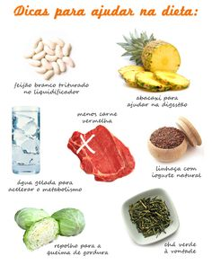 Some foods that help a lot in DIET. Healthy Tips, Healthy Eating, Healthy Recipes, Home Health, Health Fitness, Slim Fast, Slim Body, Nutritional Supplements, Good Food