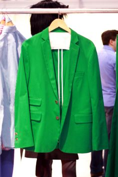 ooo yea green blazer!