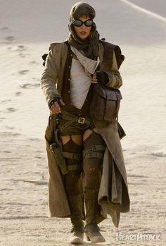 Post Apocalyptic Fashion: What You Need To Wear For The End Of The World #fashion #apocalyptic #endoftheword