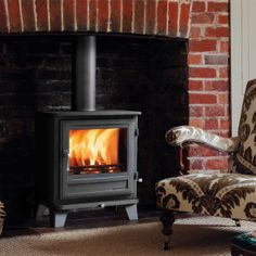 The Salisbury 8KW Multi Fuel Stove – The Fireplace Company, Crowborough, 1