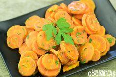 Como hacer zanahorias aliñadas estilo marroquí. Receta fácil paso a paso. Una riquísima ensalada de zanahoria con una combinación de sabores explosiva.