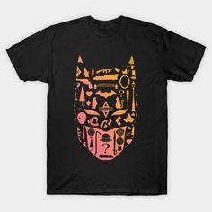 Symbolic Batman T-Shirt - DC Comics T-Shirt is $13 today at TeePublic! Batman Silhouette, Silhouette Design, Dc Comics T Shirts, Batman T Shirt, Batman Stuff, Batman Universe, Symbols, Mens Tops, T Shirts