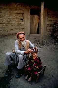 Gift of Grandparents | Steve McCurry Afghanistan