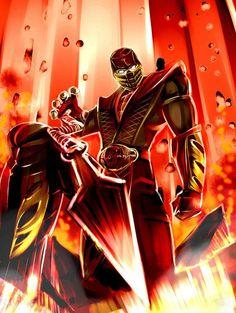 Digital Illustration of Mortal Kombat Characters King Koopa, Scorpion Mortal Kombat, Mortal Combat, Video Game Characters, Video Game Art, Comic Art, Comic Book, Memes, Character Art