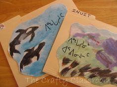 Native American Inuit lapbook and activities (Arctic) Shape Books, Five In A Row, Arctic Animals, School Subjects, Biomes, Milk Jug, Grade 2, Interactive Notebooks, Winter Theme