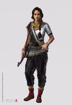 Far Cry 4 Concept Art | Aadi Salman amita1