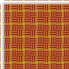 draft image: Karierte Muster Pl. XI Nr. 2, Die färbige Gewebemusterung, Franz Donat, 2S, 2T