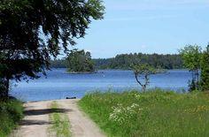 Tåget.Attraktive Lage auf der Halbinsel Tågudden in Åsnen, mit Seeblick. Urshult, Småland, Schweden