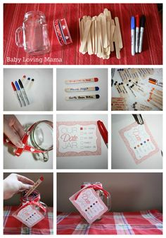 Date Jar Tutorial with Free Printable - Includes family time as well! Love this!