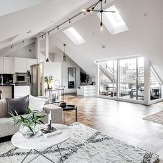 Apartment Inspo via @alexanderwhitesthlm - styling by @balthazarinterior @henriknero