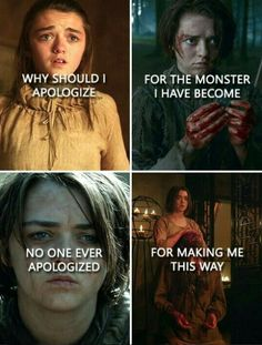 Looking for for ideas for got arya?Browse around this site for perfect Game of Thrones images. These beautiful memes will make you happy. Game Of Thrones Meme, Game Of Thones, Movies And Series, Got Memes, Valar Morghulis, Arya Stark, Best Shows Ever, Fandoms, Lord