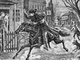 Paul Revere began his famous midnight ride in 1775.