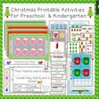 "This set contains: Eight 11"" x 17"" Math/Playdough Mats: -Two Gingerbread Houses (one without decoration, one with).  These mats also come in a 8.5""..."