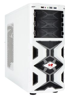 MaNa136 Midi Tower Mesh White Gaming Case No PSU - Computer Products Online Ltd Computer Case, 6 Case, Computer Accessories, Locker Storage, Tower, Mesh, Gaming, Retail, Products