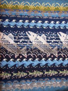 Neuleet lahjaksi naiselle tai miehelle | Päivineule, Joensuu, Lieksa Fair Isle Knitting Patterns, Fair Isle Pattern, Knitting Charts, Knitting Designs, Knit Patterns, Knitting Projects, Crochet Projects, Scandinavian Pattern, Christmas Stockings