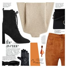 """Senza titolo #2272"" by aanyaa ❤ liked on Polyvore featuring Yves Saint Laurent, Balmain, Avenue, Chloé, Rosetta Getty and Oscar de la Renta"