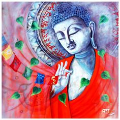 Artist: Ghanshyam Kashyap Size: X inch (WxH) Painting: Acrylic on Canvas Artwork: Original Canvas Artwork, Hanging Art, Buddha Art, Culture Art, Painting, Original Artists, Art, Buddha, Krishna Wallpaper