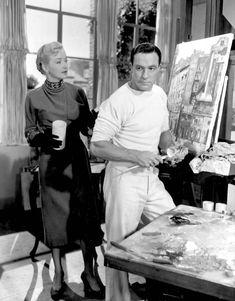 "mis actrices preferidas — Nina Foch-Gene Kelly ""Un americano en París"" (An... Robert Montgomery, Gene Kelly, Ringo Starr, Larry, Couple Photos, Couples, Actresses, Couple Shots, Couple Photography"