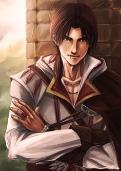 Ezio Auditore by Sing-sei