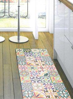 9 idees de tapis de cuisine anti taches