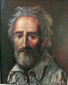 """DiegoVoci™ Diane K owner of this exquisite Portait """"The Philospher"""" of it she wrote """"It's of an old man and is probably 2.5 x 2 feet, in its original frame. More on the Diego that was purchased in 1970 in Wiesbaden Read this and other Diego owners who've posted on AC since 2008: http://www.artifactcollectors.com/diego-voci-antonio-diego-voci-3984818/Page8.html#57043"""