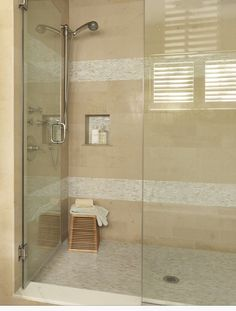 Small Shower Tile Ideas Stunning Tile Options For Small Bathrooms Bathroom With Clear Shower Door Small Bathroom Shower Tile Ideas Bad Inspiration, Bathroom Inspiration, Bathroom Renos, Small Bathroom, Bathroom Black, Family Bathroom, Shower Tile Designs, Bathroom Designs, Master Bath Remodel
