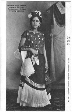 Fotografías de tehuanas de principios del siglo...