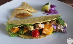 Mahi-Mahi Fish Tacos with Tropical Salsa
