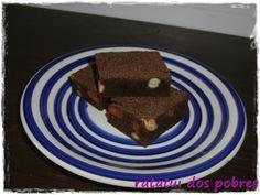 ratatui dos pobres: Brownies de chocolate e pistacios