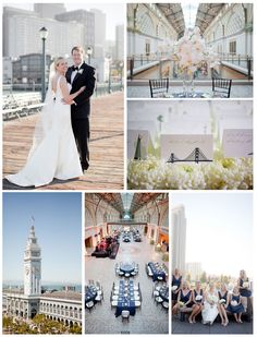 San Francisco wedding venues on I Do Venues | Ferry Building | Amy Nichols Special Events | Soulflower Floral Design.