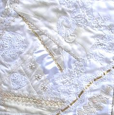 I ❤ crazy quilting, beading & embroidery . . . Problem Child-Kerry Leslie ~By Pinyon Creek Stitchin'