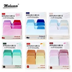 Cheap memo pad post it, Buy Quality notes memo pad directly from China sticky notes Suppliers: 60sheets/lot Watercolor Gradient Japanese Sticky Note Memo Pad Post It Office Planner Sticker Paper Stationery School Supplies