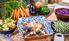 ABSOLUTELY DELICIOUS> Get ALL your Veggie Nutrition! Home & Family - Recipes - Diane Ladd's Southern Japanese Dish | Hallmark Channel