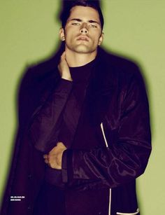 Sean O'Pry is in a Coat Mood for GQ Style Korea