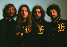 Joe Walsh, Timothy B. Schmidt, Glen Frey, Don Henley in History of the Eagles - Photo: Courtesy of Eagles Archives